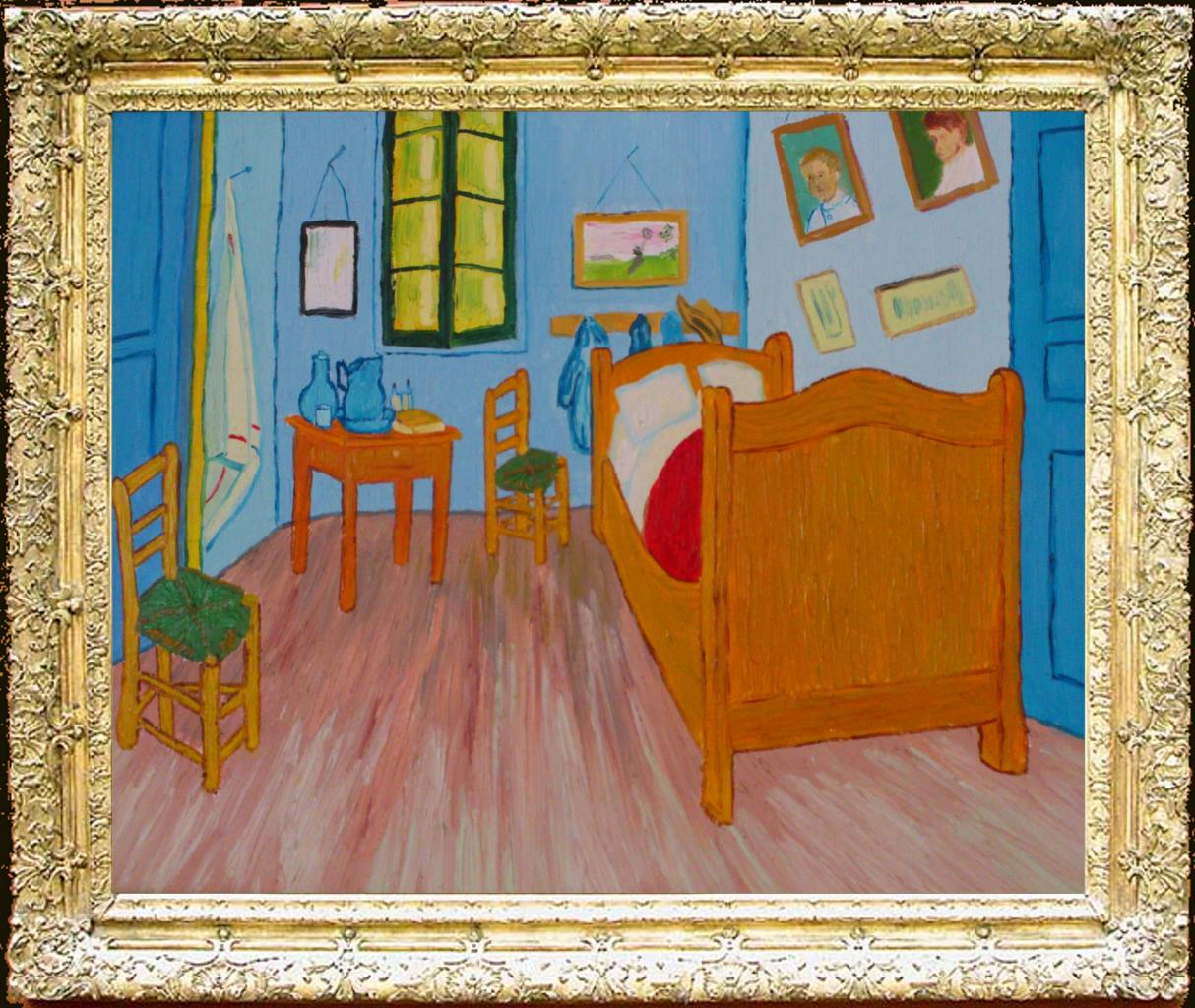 la chambre arles vincent van gogh. Black Bedroom Furniture Sets. Home Design Ideas